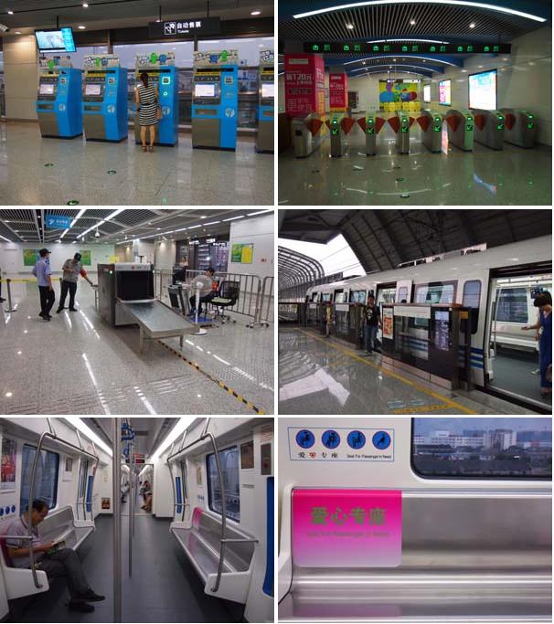 開通したばかりの地下鉄で高橋駅→天一広場駅まで乗車してみました。