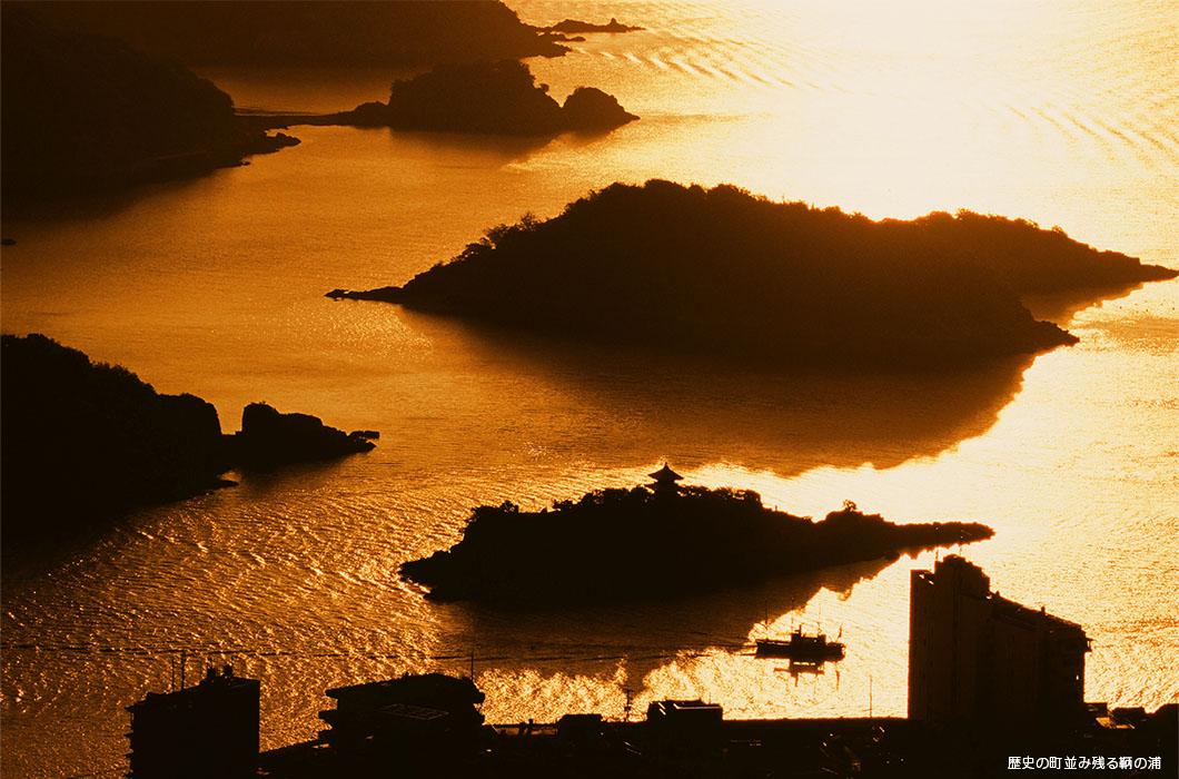 歴史の町並み残る鞆の浦