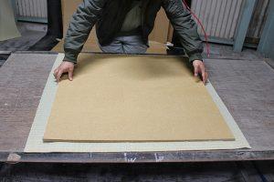フロア畳 製作工程(1)